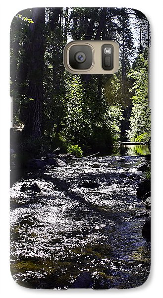 Galaxy Case featuring the photograph Stream by Brian Williamson