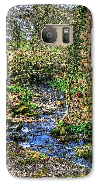 Galaxy Case featuring the photograph Stream In Wales by Doc Braham