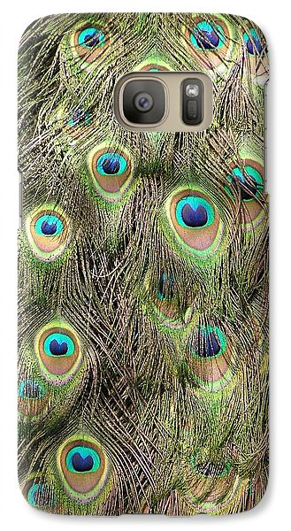 Galaxy Case featuring the photograph Stream Of Eyes by Diane Alexander