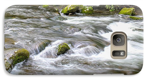 Galaxy Case featuring the photograph Stream  by Trace Kittrell