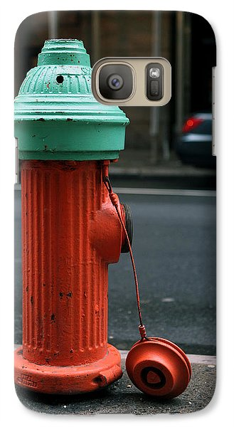 Galaxy Case featuring the photograph Street Hydrant by Dorin Adrian Berbier