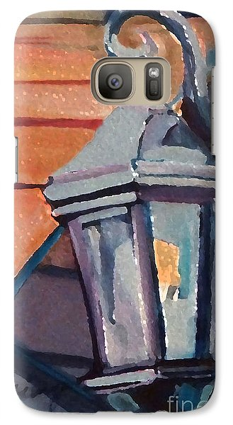 Galaxy Case featuring the painting Street Lantern by Ecinja Art Works