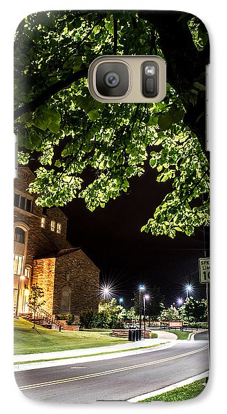 Galaxy Case featuring the photograph Street Lights In Slow Ville by Rhys Arithson