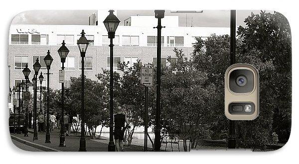 Galaxy Case featuring the photograph Street Lights by Roseann Errigo