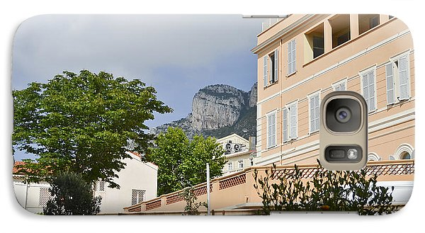 Galaxy Case featuring the photograph Street Of Monaco by Allen Sheffield