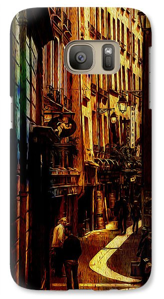 Galaxy Case featuring the photograph Street Of Paris by James Bethanis