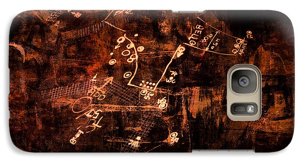 Galaxy Case featuring the digital art Street Poetry 7 by Kim Gauge