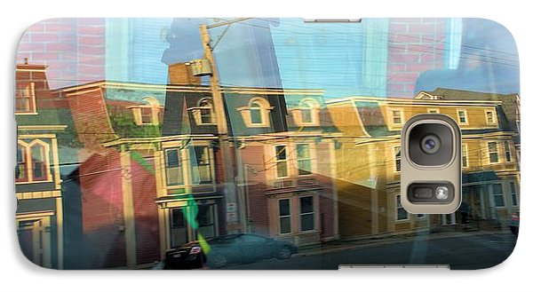 Galaxy Case featuring the photograph Street Reflection by Douglas Pike