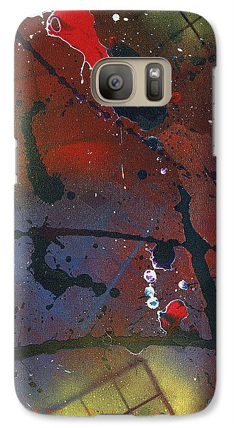 Galaxy Case featuring the painting Street Spirit by Roz Abellera Art