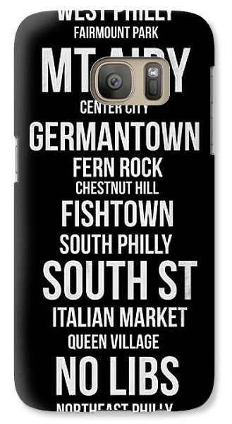Philadelphia Galaxy S7 Case - Streets Of Philadelphia 2 by Naxart Studio