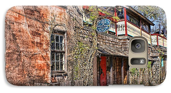 Galaxy Case featuring the photograph Streets Of St Augustine Florida by Olga Hamilton