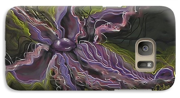 Galaxy Case featuring the painting Strength by Yolanda Raker