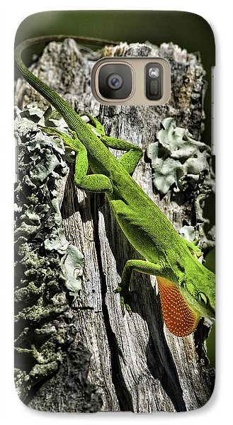 Stressed Anole Galaxy S7 Case
