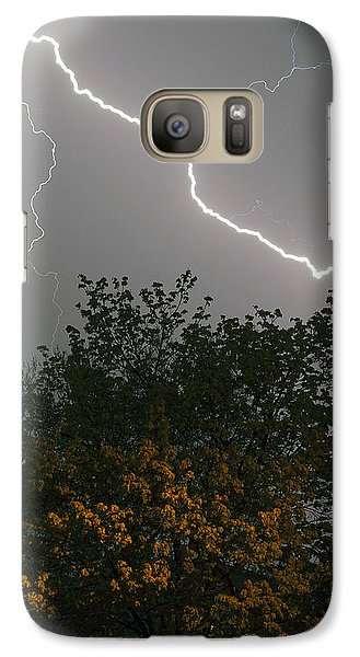Galaxy Case featuring the photograph Strike by Timothy McIntyre