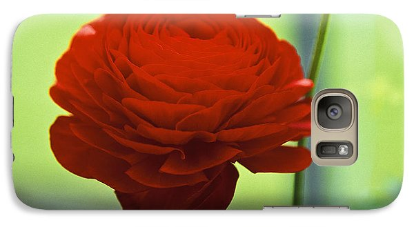 Galaxy Case featuring the photograph Striking Red by Lana Enderle