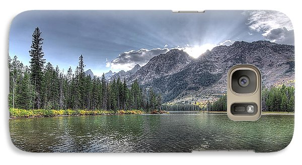 Galaxy Case featuring the photograph String Lake by Jeremy Farnsworth