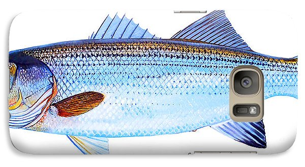 Striped Bass Galaxy S7 Case