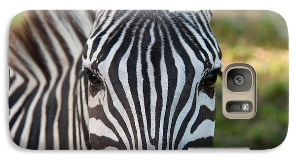 Galaxy Case featuring the photograph Stripes by John Black