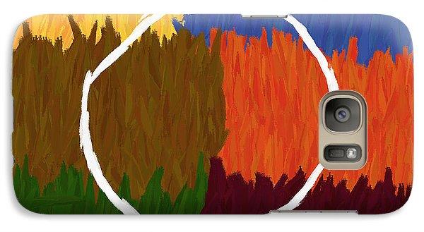 Strokes Of Colour Galaxy S7 Case by Condor