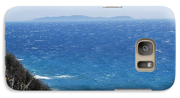 Galaxy Case featuring the photograph Strong Mistral by George Katechis