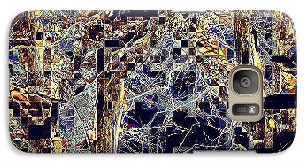 Galaxy Case featuring the photograph Structure by Jodie Marie Anne Richardson Traugott          aka jm-ART
