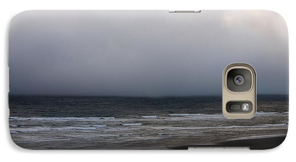 Galaxy Case featuring the photograph Stubborn Weather by Erica Hanel