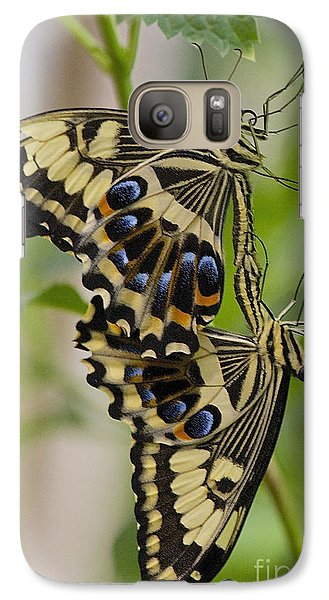 Galaxy Case featuring the photograph Stuck On You by Ruth Jolly