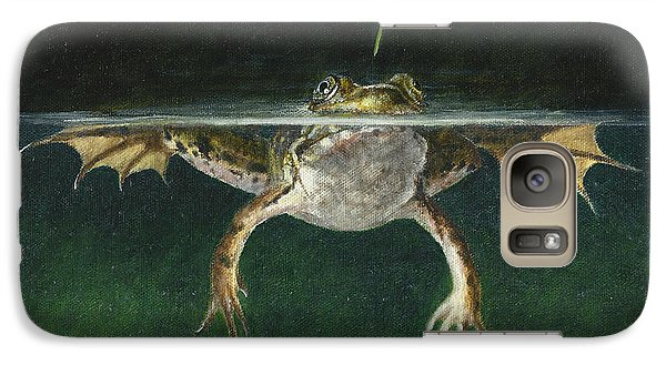 Grasshopper Galaxy S7 Case - Study Of A Grasshopper by Dreyer Wildlife Print Collections