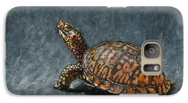 Study Of An Eastern Box Turtle Galaxy S7 Case by Rob Dreyer