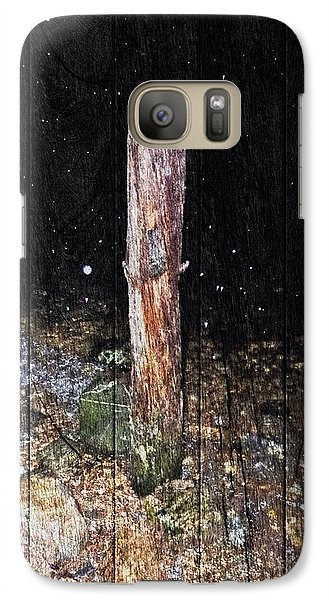 Galaxy Case featuring the photograph Stumped by Andy Heavens