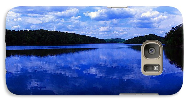 Galaxy Case featuring the photograph Stumpy Pond 04a by Andy Lawless