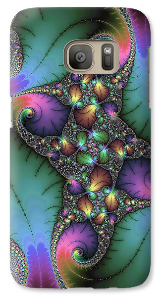 Stunning Mandelbrot Fractal Galaxy S7 Case