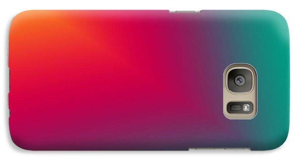 Galaxy Case featuring the digital art Stunning Star Beam by Karen Nicholson