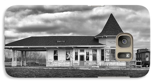 Galaxy S7 Case featuring the photograph Sturtevant Old Hiawatha Depot by Ricky L Jones