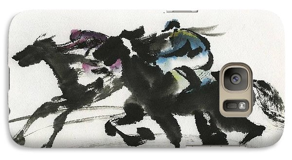 Galaxy Case featuring the painting Success by Ping Yan