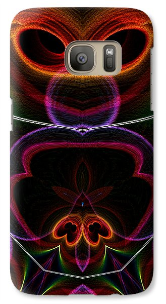 Galaxy Case featuring the digital art Suile Ciallmhar by Owlspook