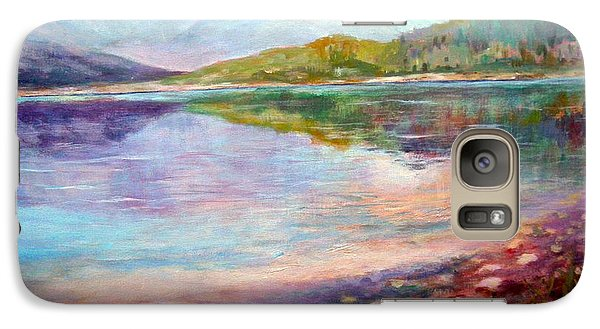 Galaxy Case featuring the painting Summer Afternoon by Sher Nasser
