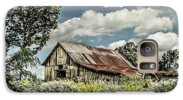 Galaxy Case featuring the photograph Summer Barn by Debbie Green