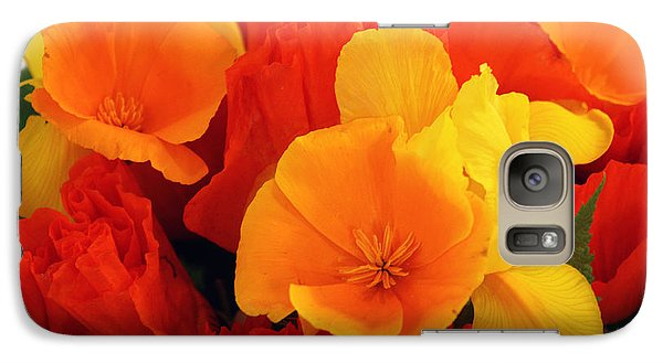 Galaxy Case featuring the photograph Summer Bouquet by Gerry Bates