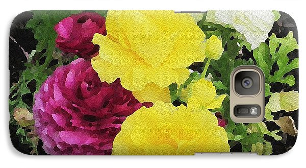 Galaxy Case featuring the photograph Summer Bouquet by Kathie Chicoine