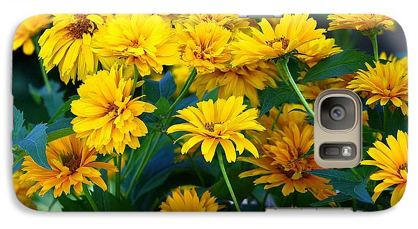 Galaxy Case featuring the photograph Summer Bouquet by Linda Edgecomb