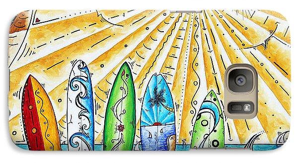 Banana Galaxy S7 Case - Summer Break By Madart by Megan Duncanson