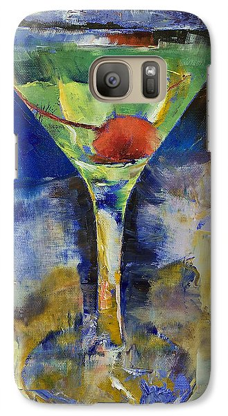 Summer Breeze Martini Galaxy S7 Case by Michael Creese