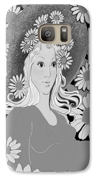 Galaxy Case featuring the digital art Summer by Carol Jacobs