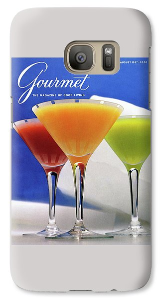 Summer Cocktails Galaxy S7 Case by Romulo Yanes