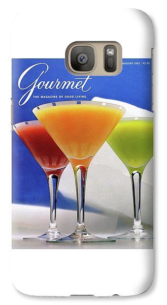 Summer Cocktails Galaxy S7 Case