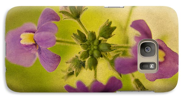 Galaxy Case featuring the photograph Summer Color by MaryJane Armstrong