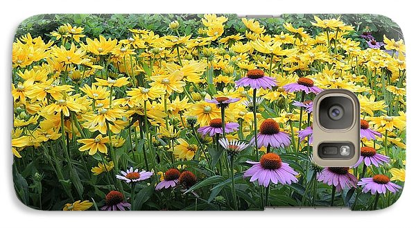 Galaxy Case featuring the photograph Summer Colors by Teresa Schomig