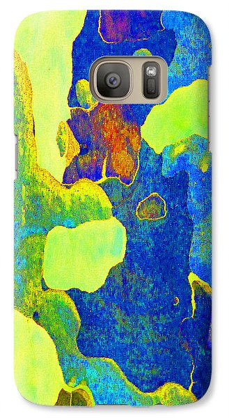 Galaxy Case featuring the photograph Summer Eucalypt Abstract 14 by Margaret Saheed