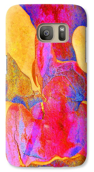 Galaxy Case featuring the photograph Summer Eucalypt Abstract 24 by Margaret Saheed